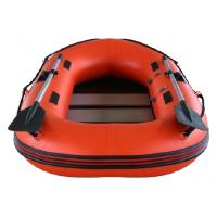 China 0.9mm PVC Fabric Inflatable Fishing Dinghy Hard Bottom Inflatable Boats wholesale
