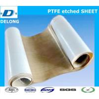 China two side ptfe etched sheet brown for stick to rubber wholesale