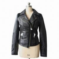 China Fashionable Garment, Suitable for Women, Made of Leather, Available in Various Colors, Sizes/Designs wholesale