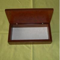 China Wooden gift box, wood Pen box, gloss finish, EVA pallet inside is available wholesale