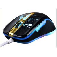 China Desktop / Laptop Ergonomic Wired Gaming Mouse With LED Light Change wholesale