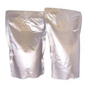 Aluminum Foil Food Vacuum Seal Bags High Temperature /  Silvery Vacuum Retort Pouch