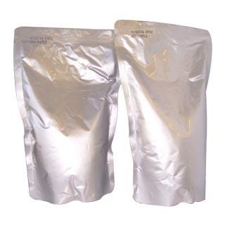 Quality Aluminum Foil Food Vacuum Seal Bags High Temperature /  Silvery Vacuum Retort Pouch for sale