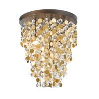 Buy cheap 6 Light G9 Luxurious Crystal Ceiling Lamp Nc3238c-6br from wholesalers