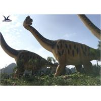 China Outdoor Dinosaur Lawn Statue Amusement Park Facility Large Animatronic Dinosaur Statue wholesale