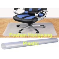 China 600x 2700 mm Office Chair Floor Protector Non Studded T shape Unbreakable wholesale