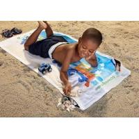 China Pool Cotton Beach Towels Reactive Printed Anti-Bleach For Kids on sale