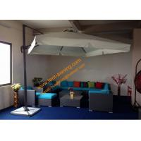 China Cantilever Parasol with Vent Aluminum Waterproof Outdoor Garden Parasol wholesale