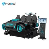 China 6 Players 9D VR Game Machine For Malls Centre 360 Degree Horizontal Rotating wholesale