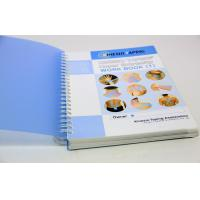China Professional Custom Spiral Notebook Printing Services For Office / School on sale
