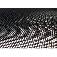 Buy cheap Anti Theft Stainless Steel Security Mesh 316 Material Black / White / Gray Color from wholesalers