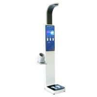 Buy cheap ultrasonic probes large lcd display body weight and height scale from wholesalers