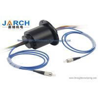 China Fiber optic rotary joint with 4 circuits 5A of electric optical rotary joint wholesale