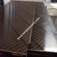 18mm finger joint core one time hot pressed film faced plywood, cheap construction shuttering plywood