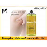 China 100% Natural Skin Care Massage Oil ,  Relaxing Essential Oils For Massage wholesale