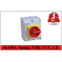 Buy cheap Semko、VDE、CCCのセリウムIP65 2~5P 10A~150Aの回転式アイソレーター スイッチ電気分離スイッチ防水スイッチ from wholesalers