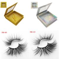 China High Quality Own Brand Private Label 100% Real Mink Lashes 3d Mink Eyelashes wholesale
