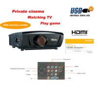 China High lumens bright home theater projector support Video, Y/PB/PR, S-video, VGA, TV, USB, HDMI, Audio wholesale