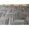 "China Hilton Grey Herringbone Natural Stone Mosaic Tile 2"" X 8"" With Loose Packing wholesale"