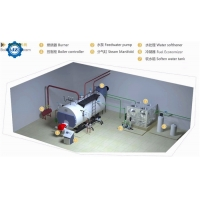 China Installation-Free 1500KG 1.5TONS Natural Gas LPG Diesel Oil Fired Steam Boiler Supplier Price wholesale