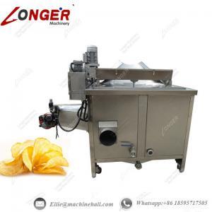 China Potato Chips Frying Machine Automatic Potato Chips Fryer Potato Chips Frying Manufacture Industrial Potato Chips Fryer wholesale