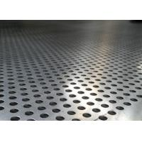 China Mild Steel Perforated Metal Screen Corrosion Resistant Fashionable New Design wholesale