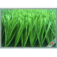 China Abrasion Resistance Football Artificial Turf , Synthetic Grass For Soccer Fields wholesale