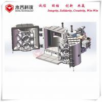 China Black Chrome Magnetron Sputtering Equipment , Car Wheel Hard Chrome Plating Machine wholesale