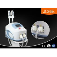 China Intense Pulse light Laser SHR Hair Removal Machine with 0 - 50 J / cm2 RF Energy wholesale