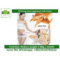 China Lightly Brown Natural Meal Replacement Shakes Satiety Milk Tea For Weight Loss wholesale