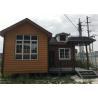 China 56㎡ Lightweight Cement Board Wall Prefab Steel House With Asphalt Shingle wholesale