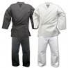 China Custom Lightweight Karate Gi / Black Karate Uniform 100cm - 150 cm Size wholesale
