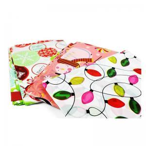 China Merry Christmas jumbo bicycle sacks giant gift bag with header card on sale