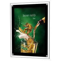 China DC 12V LED Light Box Display Stand Low Power Consumption Customized Color on sale