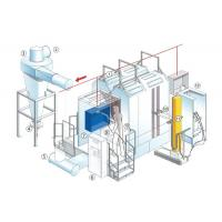 China Painting Powder Coating Line For Car Brake Pads OEM With Electrical Control System on sale