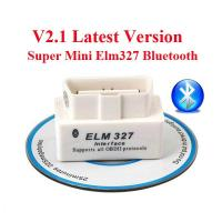 China V2.1 OBD2 ELM327 Interface Bluetooth Diagnostic Code Scanner For Cars wholesale