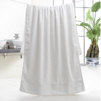 5 Star Hotel 32S Satin 100% Cotton Bath Towel 70*150cm, 600g for wholesale, logo embroidered acceptable