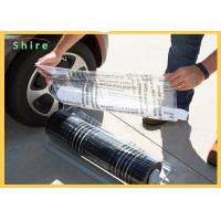 China Break Point Adhesive PE Protection Film For Auto Carpet Easy Peel Off on sale