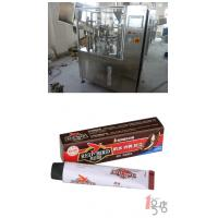 China PLC Control 304 Stainless Steel Tube Filling Equipment 30 - 50 Tube / Minute For Shoe Polish wholesale