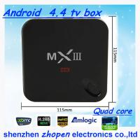 China hot selling android new products mxiii/mx3 2g ram and 8g flash made in china wholesale