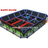 China Professional Big PVC Trampolines For Kids For Indoor And Outdoor wholesale