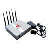 China Dispositif fort WIFI 2400mhz - 2500MHz de brouilleur de brouilleur de signal de téléphone portable de gamme wholesale