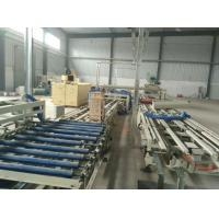 China Straw Color Wave Roof Tile Making Machine for Mgo / Mgcl / Fiber Glass Mesh Raw Material wholesale