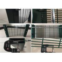 China Steel Wire 358 High Security Mesh Panel Fence Anti - Cut For Residential District wholesale