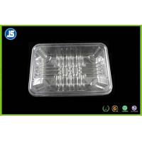China Transparent Plastic Food Packaging Trays With Soft PLA For Styrofoam Meat wholesale