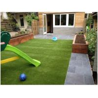 Landscaping Playground Synthetic Turf Grass Nature 45mm High Density V Shape