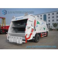 China Foton Dual Axle 4X2 Comperssed Garbage Trucks 5m3-8m3 95 Km/h on sale
