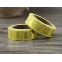 China Custom Printed Multi Colorful Stationery Decoration gold foil metallic foil washi paper tape on sale