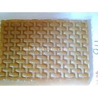 China Durable Natural crepe boot sole / Shoe Sole Rubber Sheet reed mat pattern wholesale