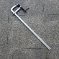 Buy cheap Welding Fabricating All-steel Bar Clamps Depth 140mm Jaw Opening 800mm from wholesalers